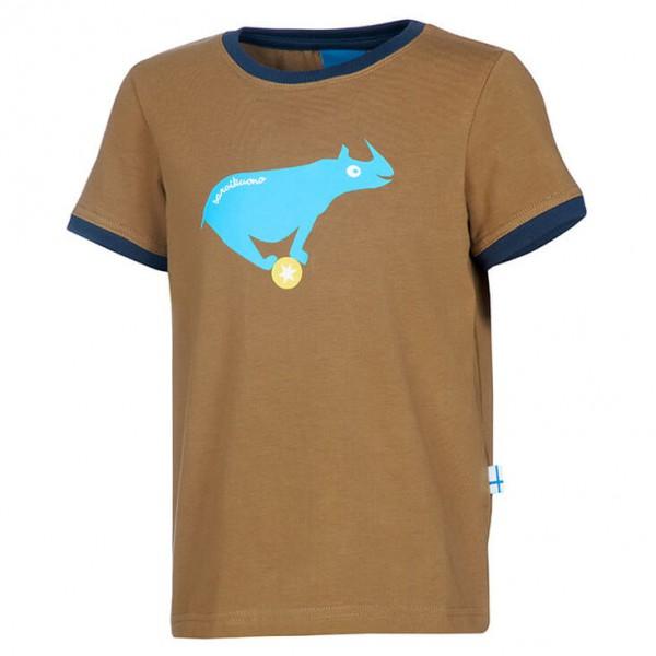 Finkid - Kid's Trampoliini - Camiseta de manga corta
