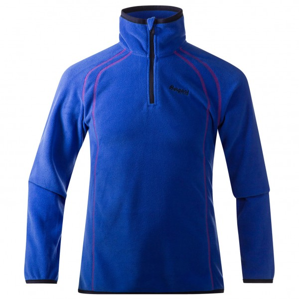 Bergans - Ombo Youth Girl Half Zip - Pull-overs polaire