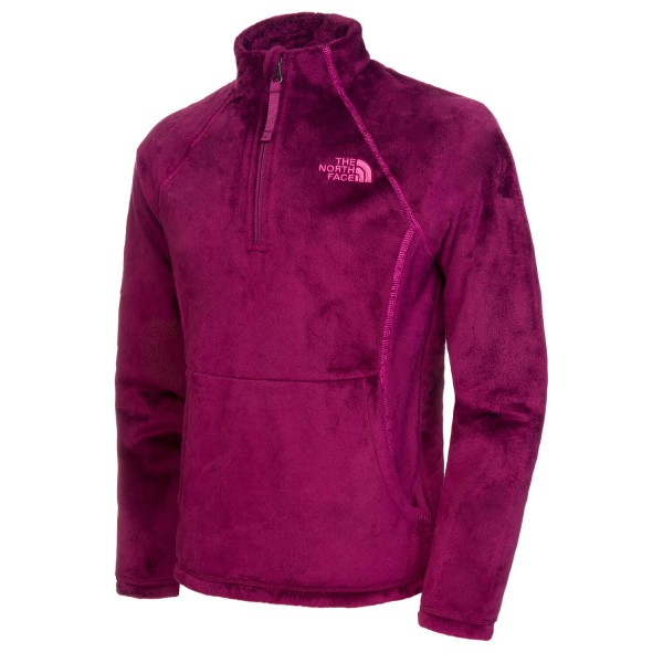 The North Face - Girl's Mossbud 1/4 Zip - Pull-over polaire
