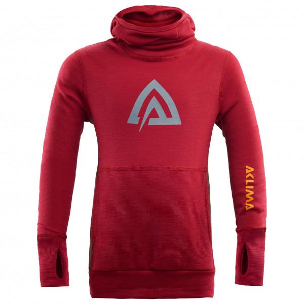 Aclima - Kid's WW Hood Sweater Children - Merino trui