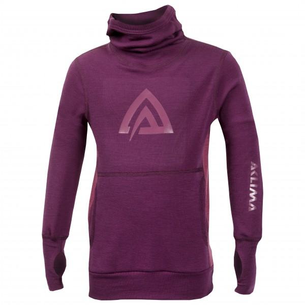 Aclima - Kid's WW Hood Sweater Children - Överdragströjor merinoull