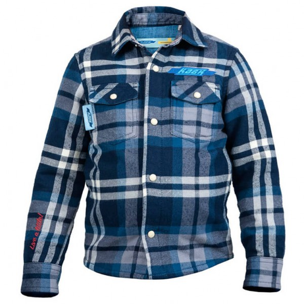 Kask of Sweden - Kid's Flannel Shirt - Hemd