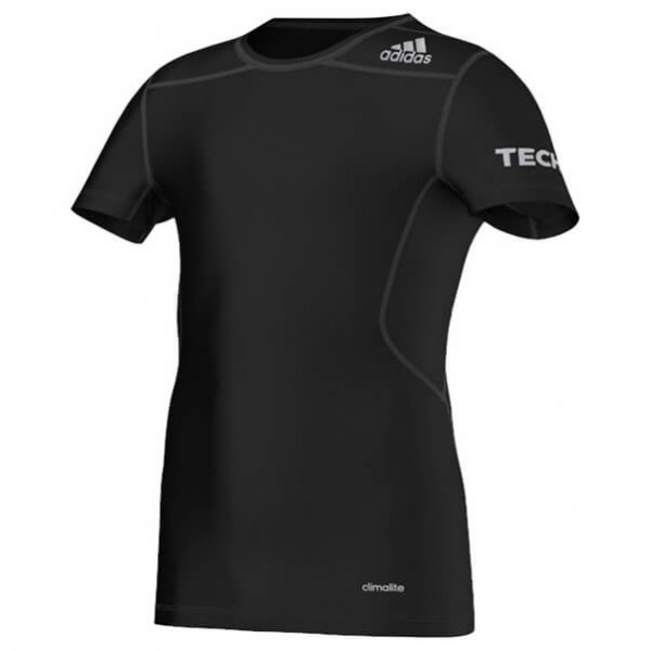 Adidas - Kid's Techfit SS Tee - Synthetic underwear