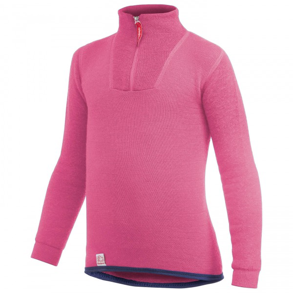 Woolpower - Kid's Zip Turtleneck 200 - Merinounterwäsche