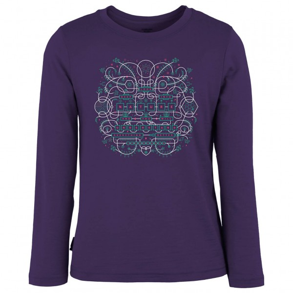 Icebreaker - Kid's Tech LS Crewe Arcade - Long-sleeve