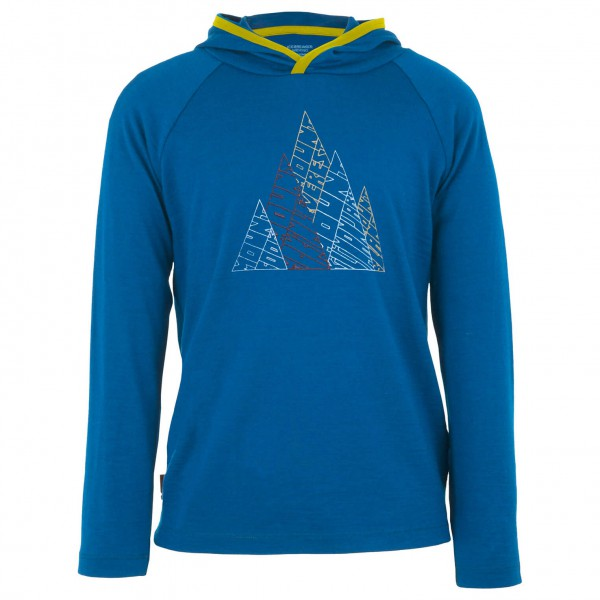 Icebreaker - Kid's Tech LS Hood Five Peaks