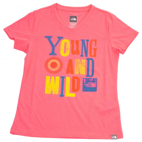 The North Face - Girl's S/S Hike Tee - T-paidat