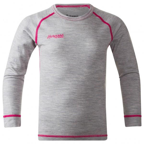 Bergans - Mispel Kids Shirt - Merinovilla-alusvaatteet