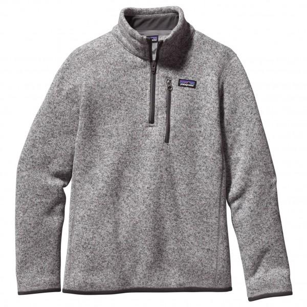 Patagonia - Boy's Better Sweater 1/4 Zip - Fleece pullover