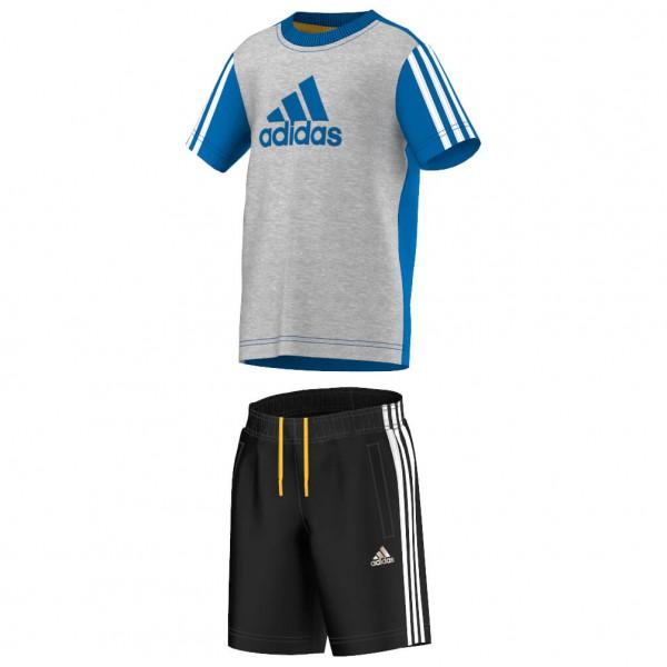 adidas - Kid's Essentials Logo Summer Set - T-shirt