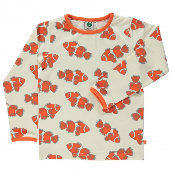 Smafolk - Kid's Fish T-Shirt L/S - Manches longues