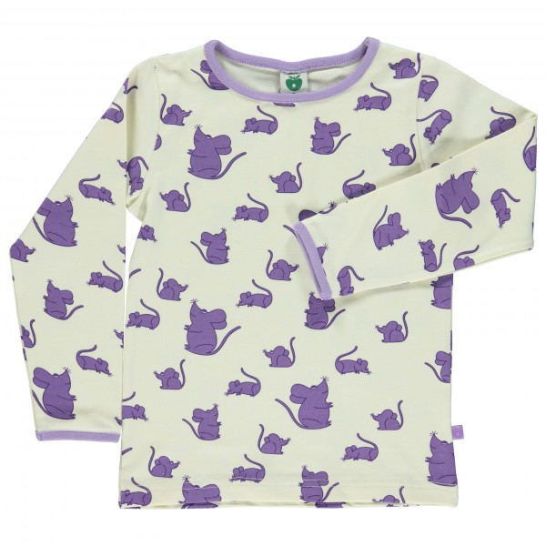 Smafolk - Kid's Mice T-Shirt L/S - Manches longues
