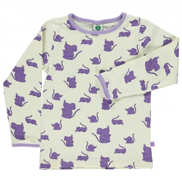 Smafolk - Kid's Mice T-Shirt L/S - Manches longues