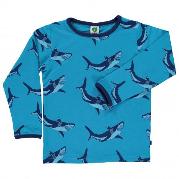 Smafolk - Kid's Shark T-Shirt L/S - Manches longues