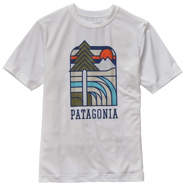 Patagonia - Kid's Capilene Daily Graphic Tee - T-shirt