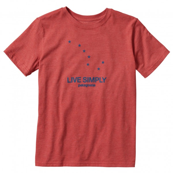 Patagonia - Kid's Live Simply Dipper Cotton/Poly T-Shirt