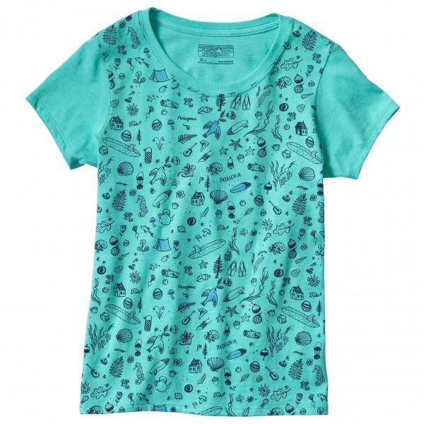 Patagonia - Kid's Graphic Cotton/Poly T-Shirt - T-shirt