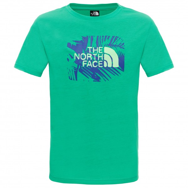 The North Face - Boy's S/S Reaxion Tee - T-paidat