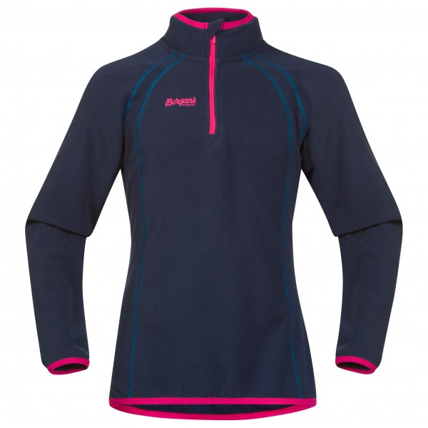 Bergans - Ombo Youth Girl Half Zip - Fleecepulloveri