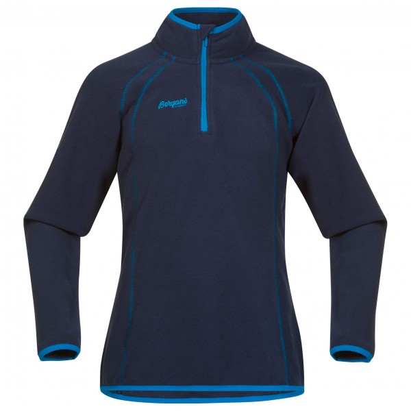 Bergans - Ombo Youth Half Zip - Fleecepulloveri