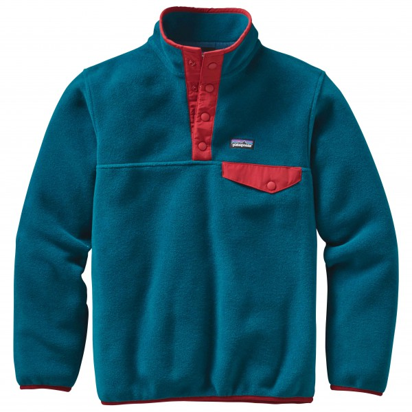 Patagonia - Boys' Lightwight Synchilla Snap-T Pullover