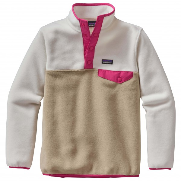 Patagonia - Girls' Lightweight Synchilla Snap-T Pullover - Fleecesweatere