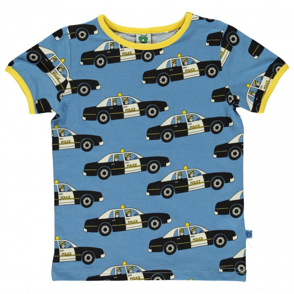 Smafolk - Police Car T-Shirt S/S - T-paidat