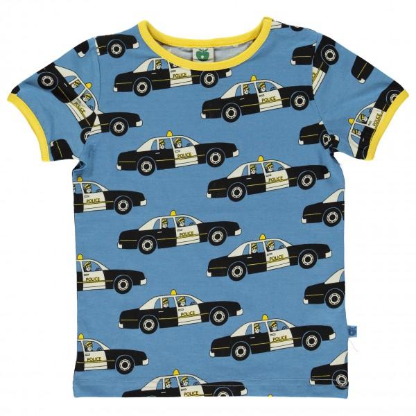 Smafolk - Police Car T-Shirt S/S - T-paidat