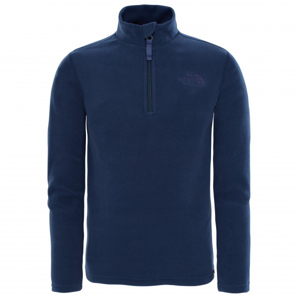 The North Face - Youth Glacier 1/4 Zip - Pullover in pile