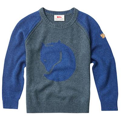 Fjällräven - Kid's Fox Sweater - Merinopullover