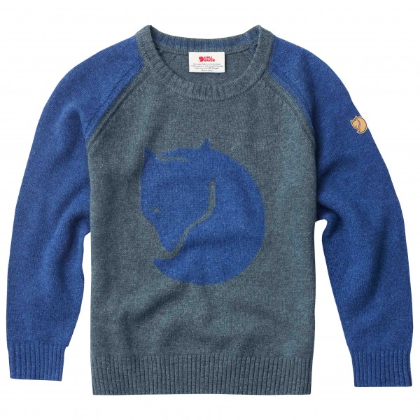 Fjällräven - Kid's Fox Sweater - Pull-over en laine mérinos