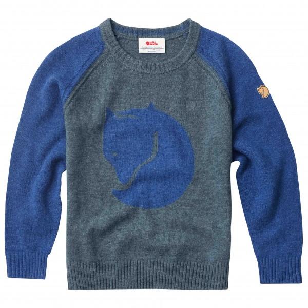 Fjällräven - Kid's Fox Sweater - Pull-over en laine mérinos