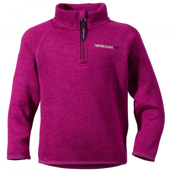 Didriksons - Kid's Etna Half-Zip Jacket - Pull-overs polaire