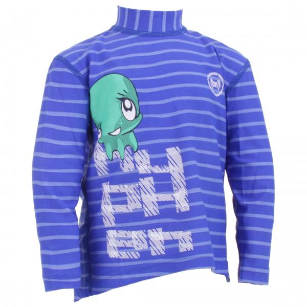 Hyphen - Kid's Langarmshirt 'striped Cobalt'