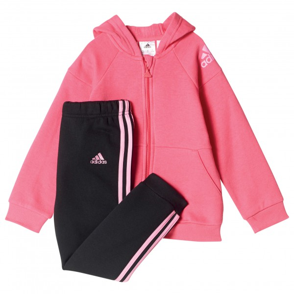 adidas - Kid's Full Zip Hoodie Jogger - Pull-over à capuche