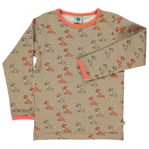 Smafolk - Kid's T-Shirt L/S Fox - Long-sleeve