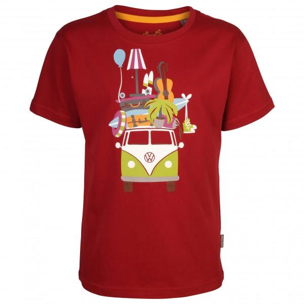 Elkline - Kid's Huckepack - T-shirt en laine mérinos