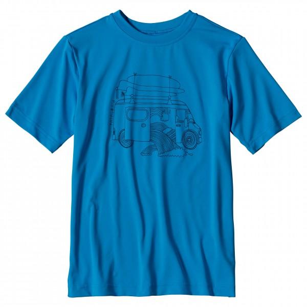 Patagonia - Boys' Capilene Silkweight Graphic Tee - T-paidat