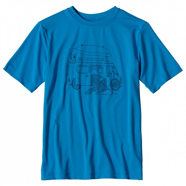 Patagonia - Boys' Capilene Silkweight Graphic Tee - T-shirt