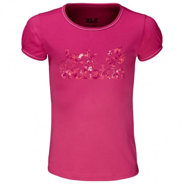 Jack Wolfskin - Brand T-Shirt Girls - T-Shirt