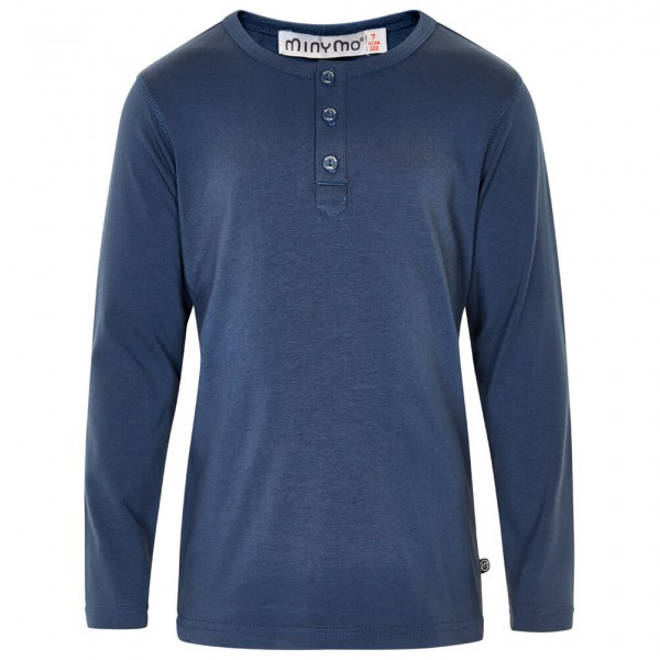 Minymo - Kid's Basic 41 -Granddad T-shirt L/S - Longsleeve