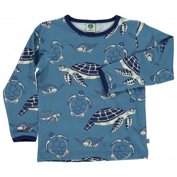 Smafolk - Kid's T-Shirt Longsleeves Turtle - Longsleeve