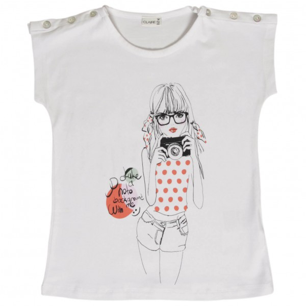 Hust&Claire - Kid's Claire Photographer T-Shirt - T-skjorte
