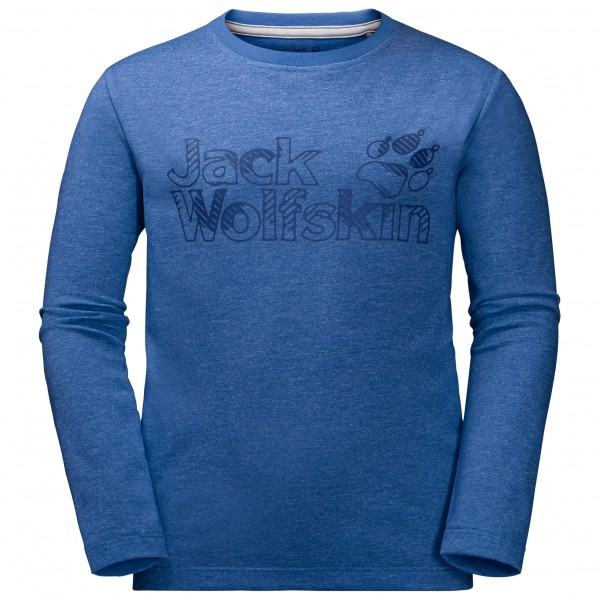 Jack Wolfskin - Boy's L/S Brand Tee - Longsleeve