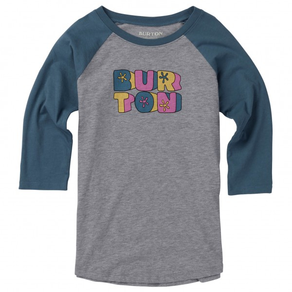 Burton - Girls Hollie Raglan - Camiseta de manga larga