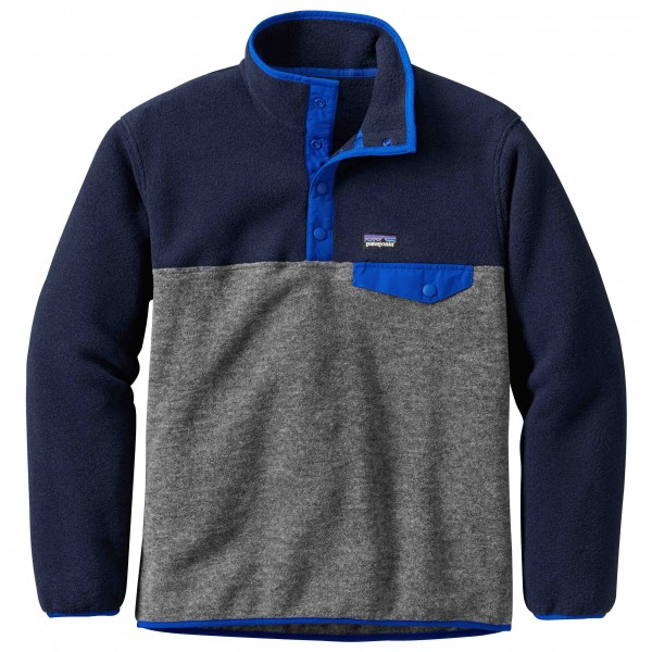 Patagonia - Boys' Lightweight Synchilla Snap-T Pullover - Fleecetrui