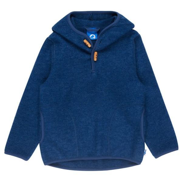 Finkid - Kid's Jussi Wool Round Hood - Merino trui
