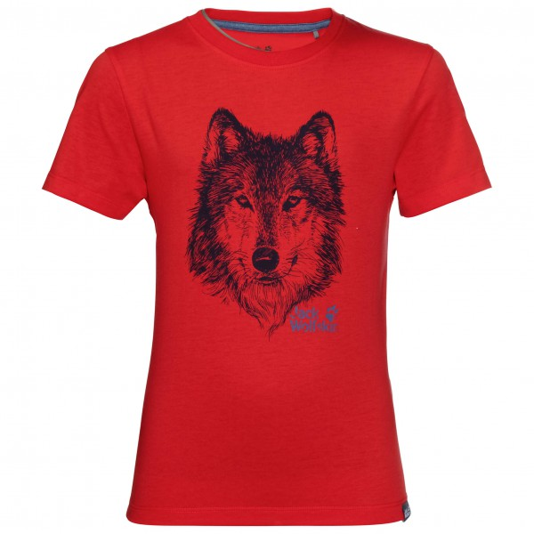 Jack Wolfskin - Brand T Boys - T-shirt