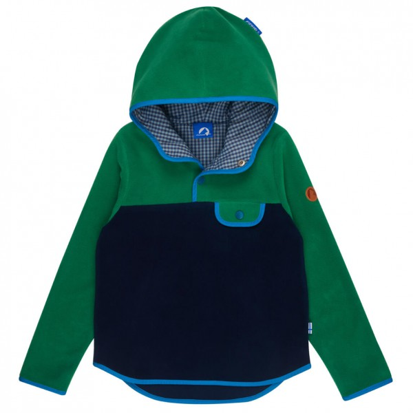 Finkid - Kid's Joki Round Hood - Fleecetrui