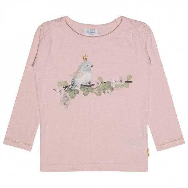 Hust&Claire - Kid's T-Shirt L/s Bird - Longsleeve